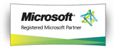 logo microsoft registered partner
